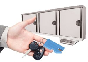 auto dealer, key cabinet